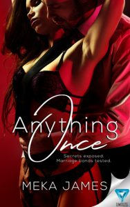 Cover Art for Anything Once by Meka James