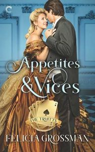 Cover Art for Appetites & Vices by Felicia Grossman