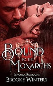 Cover Art for Bound to the Monarchs by Brooke Winters