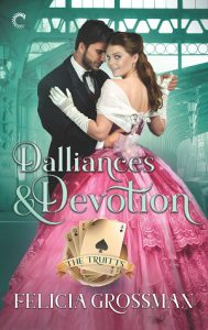 Cover Art for Dalliances & Devotion by Felicia Grossman