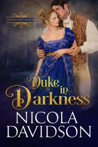 Cover Art for Duke In Darkness by Nicola Davidson