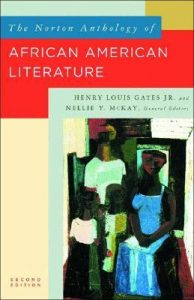 Cover Art for The Norton Anthology of African American Literature. 2nd ed by Nellie Y. McKay