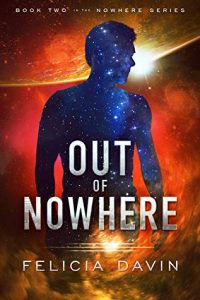 Cover Art for Out of Nowhere by Felicia Davin