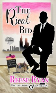 Cover Art for The Rival Bid by Reese Ryan
